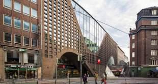 Nuotraukoje: viena Helsinkio bibliotekų – Universiteto biblioteka