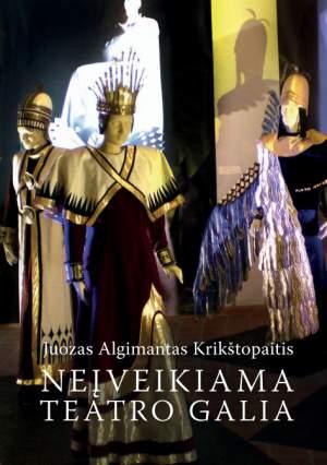 """Juozas Algimantas Krikštopaitis pristato knygą """"Neįveikiama teatro galia"""""""