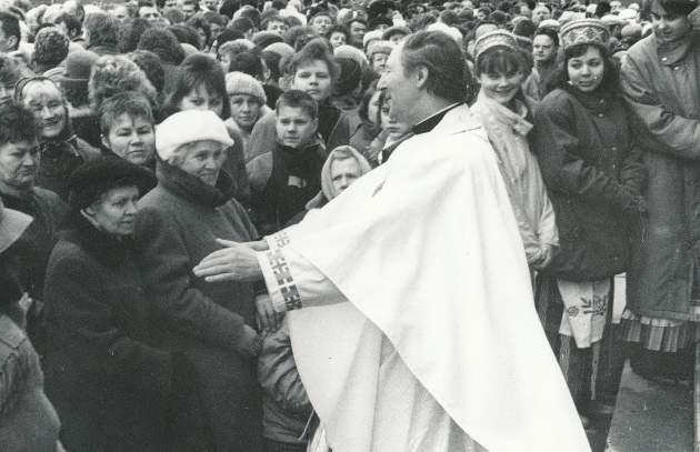 Ričardas Mikutavičius per Velykas