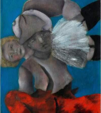 """Aldonos Gustas tapybos paroda """"Mano vaikystės Lietuva"""""""