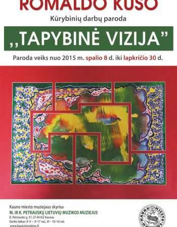 """Kauno miesto muziejuje atidaroma dailininko Romaldo Kuso kūrybinių darbų paroda """"Tapybinė vizija"""""""