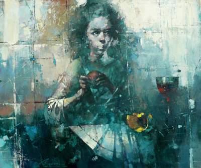 Dailininko iš Baltarusijos Vaclav Sporskij tapybos paroda