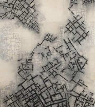 """Norvegų menininkės Inger-Johanne Brautaset paroda """"Kelias į Aleppo"""""""