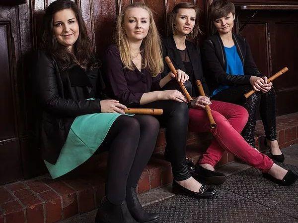 Išskirtinis fleitų kvartetas iš Jungtinės Karalystės atvyksta koncertuoti į Kauną!