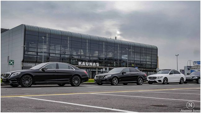 Svečių pasitikimas oro uoste ar stotyje