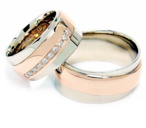 Indvidualūs vestuviniai žiedai