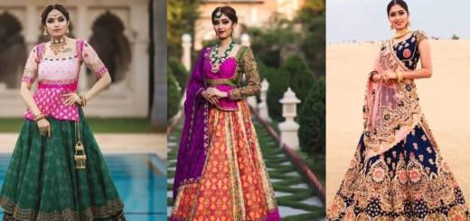 Gujarati styles lehenga choli