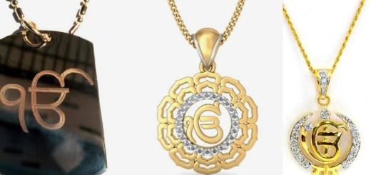 Ek Onkar pendants