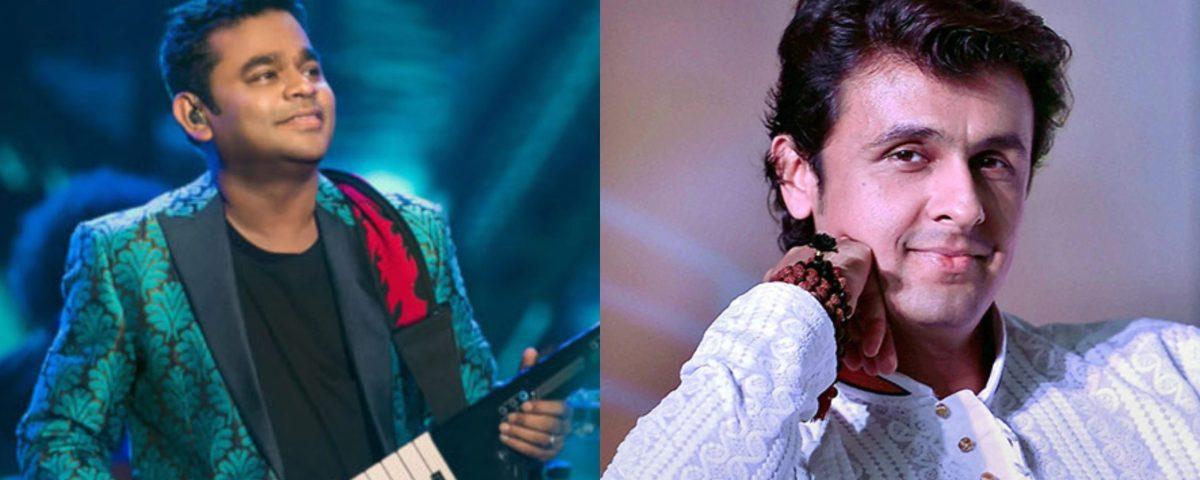 sonu nigam ar rahman talk about the music mafia