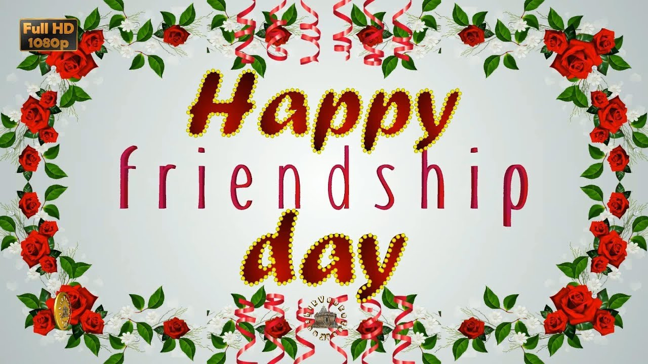 Greetings for Friendship Day.