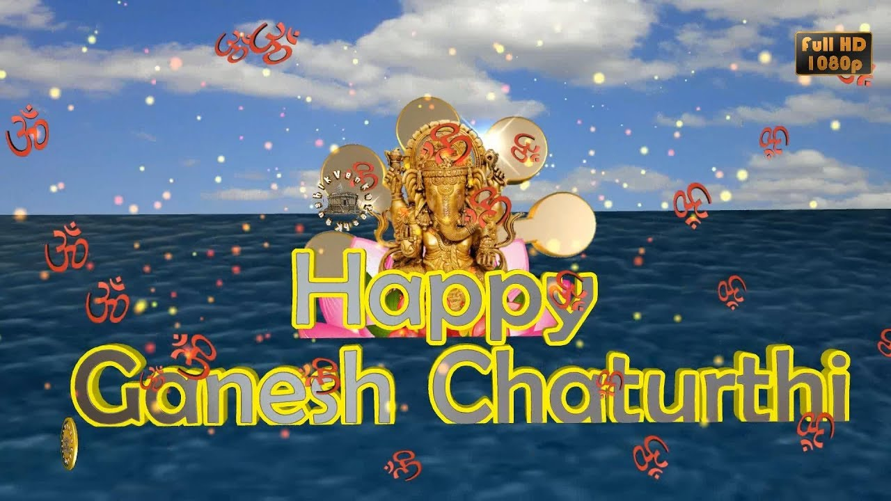 Greetings for Ganesh Chaturthi