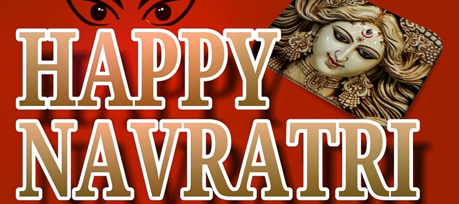 Greetings Image to wish your dear ones on the festival occasion of upcoming Hindu Festival - Navratri.