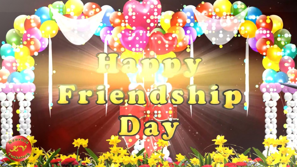 Greetings for the special event of friends.