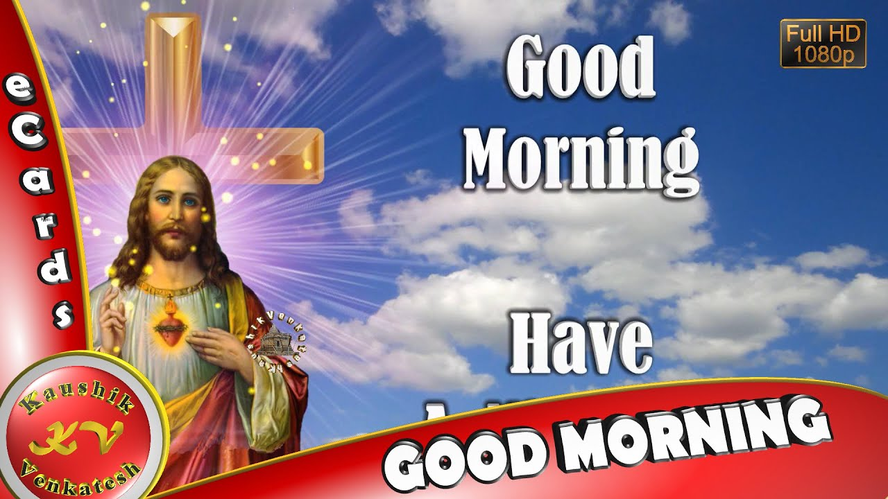 Image of Christian Morning Wishes Video. (Lord Jesus )