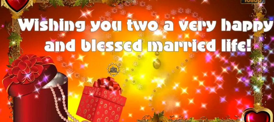 Greetings for Wedding Day
