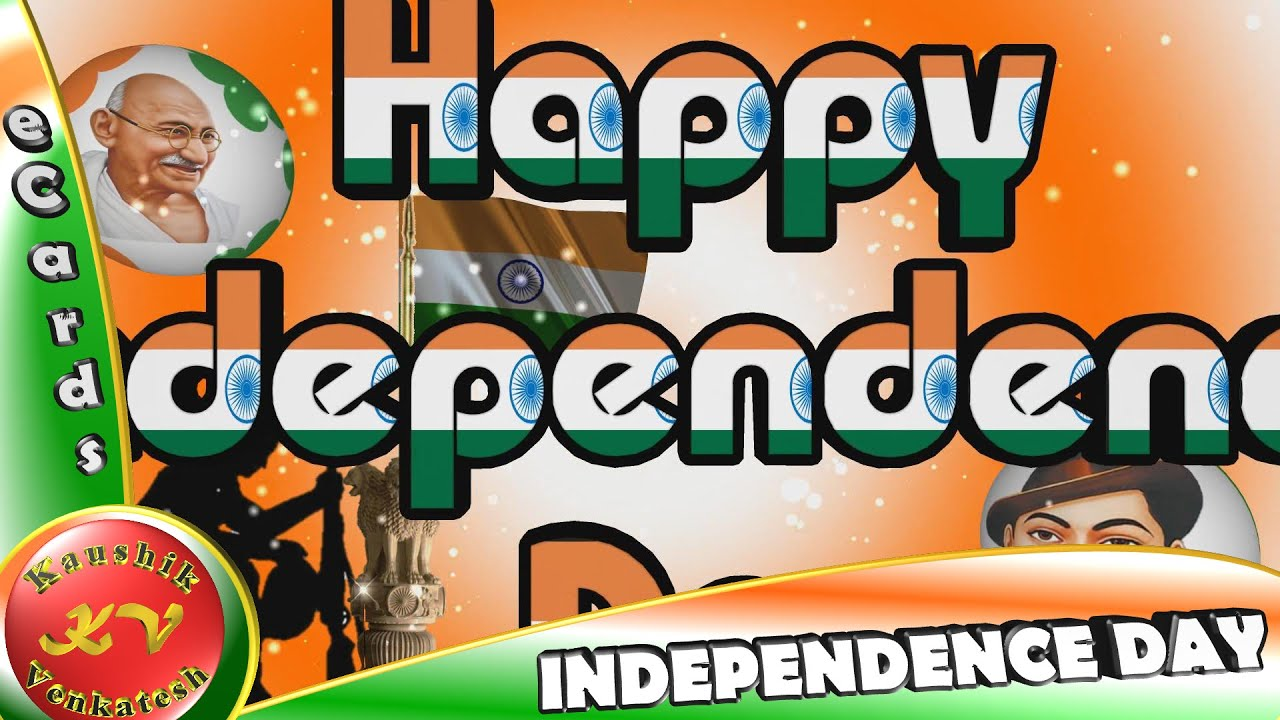 Greetings for Independence Day Animated Video