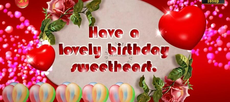 Greetings Image for Girlfriend's birthday