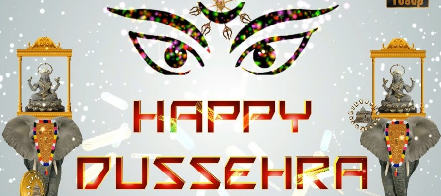 Greetings for the Hindu festival - Dussehra