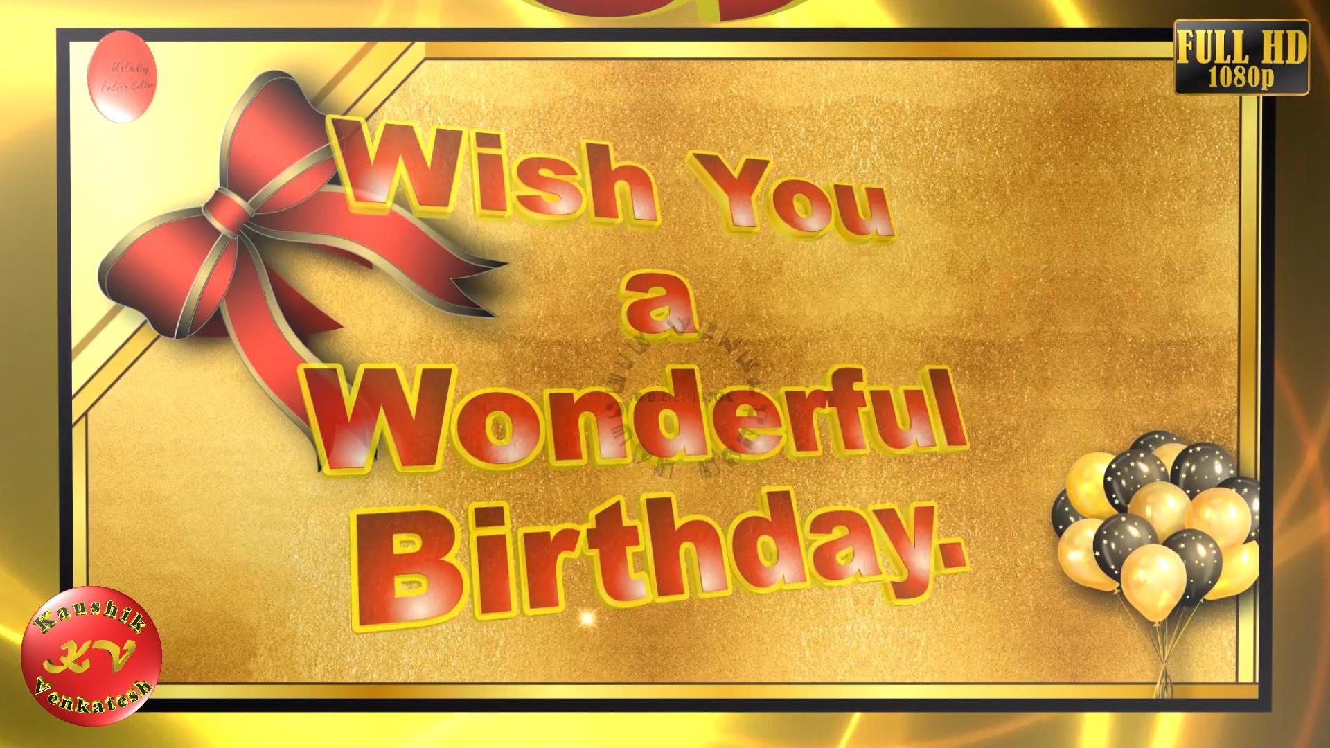 Greetings Image for Birthday celebration