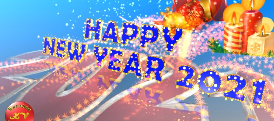 Greetings Video for New Year 2021.