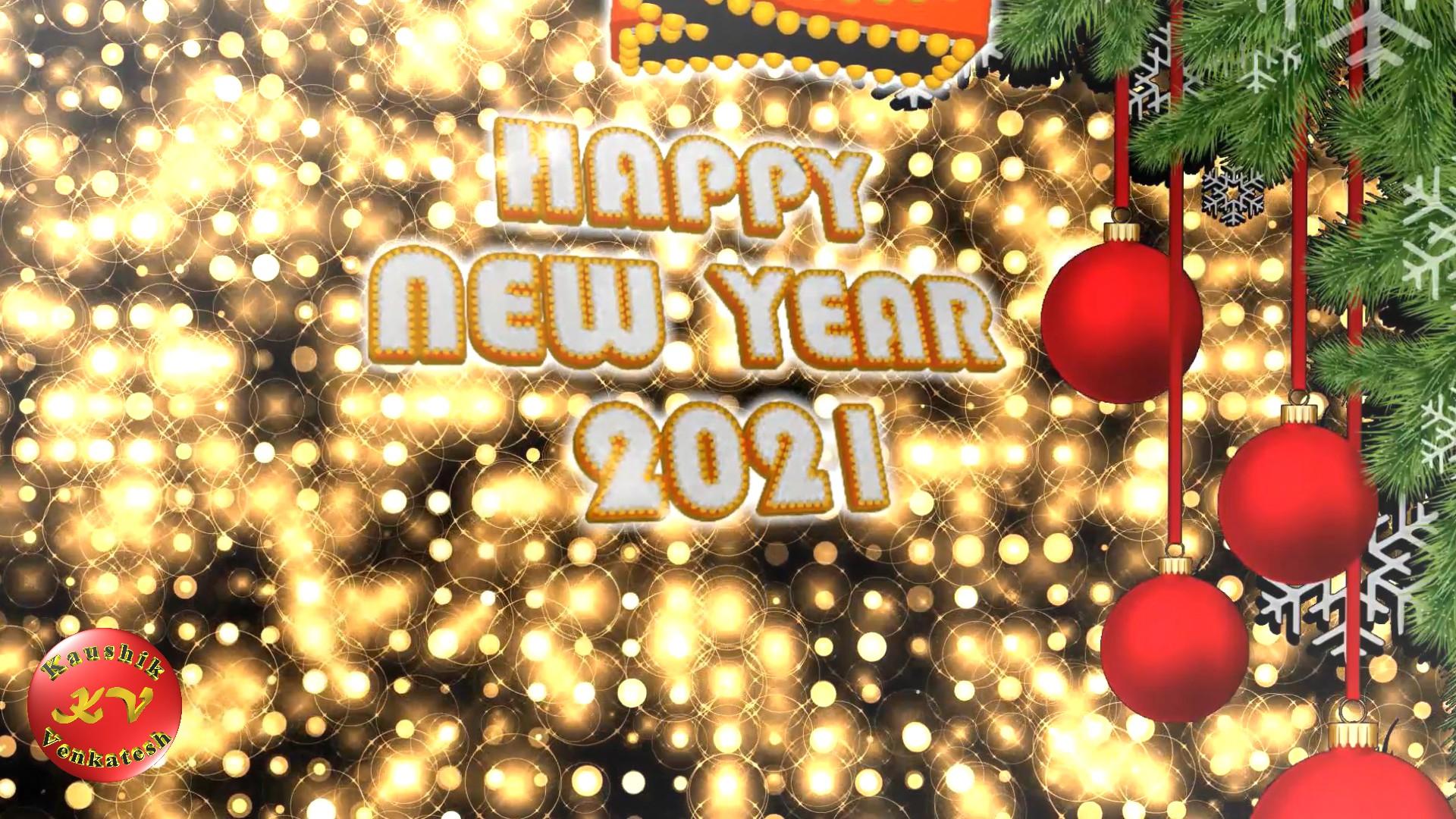 New Year Greetings Image 2021