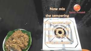 Ven Pongal Recipe Step 21