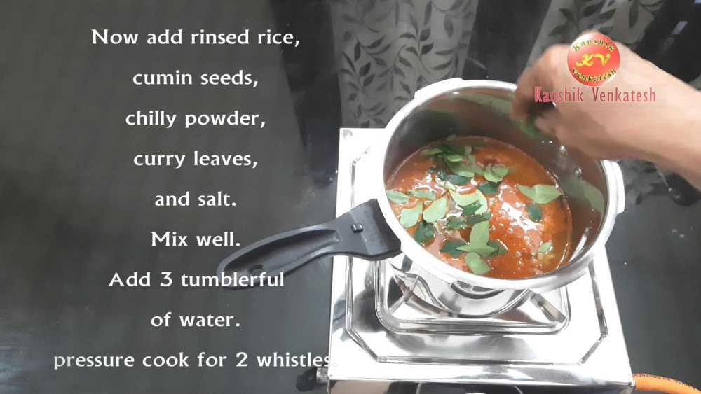 Ven Pongal Recipe Step 9