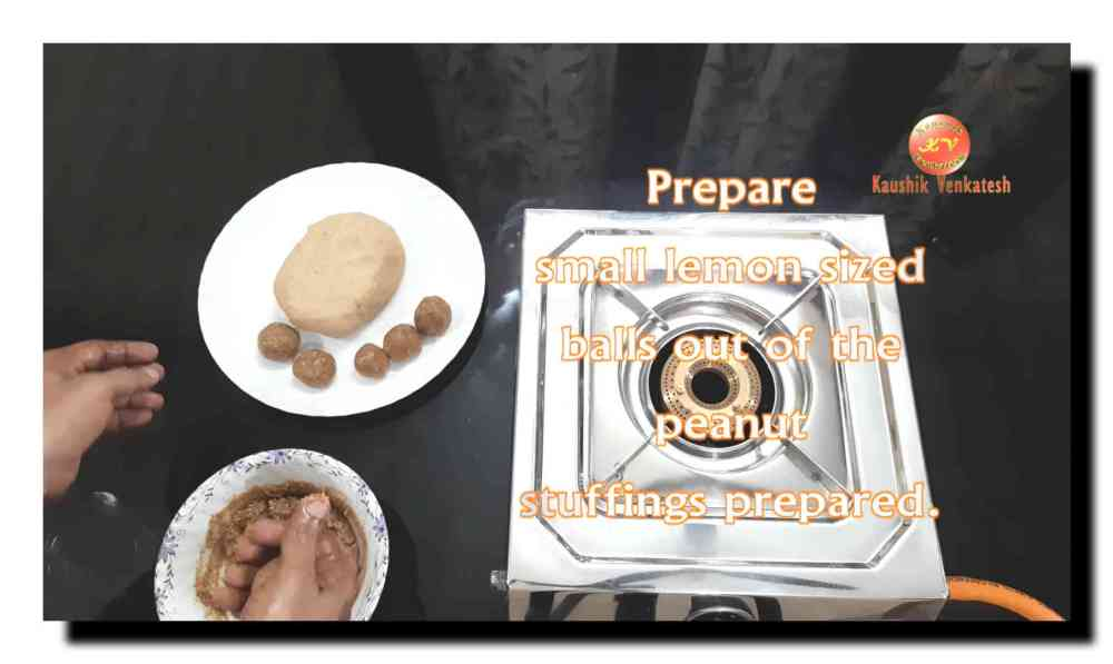 Peanut Holige Recipe Procedure
