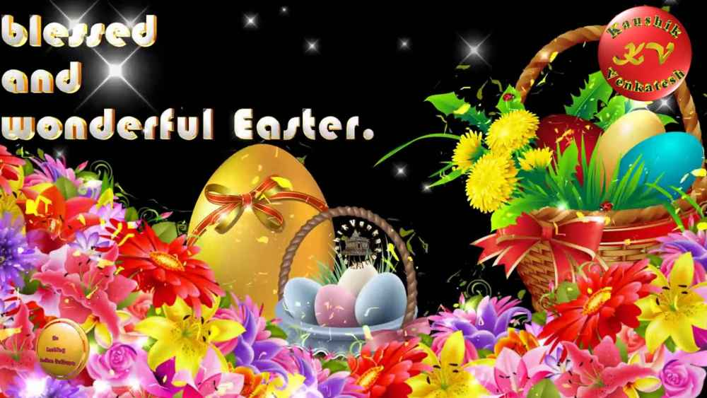 Happy Easter Animated Greetings