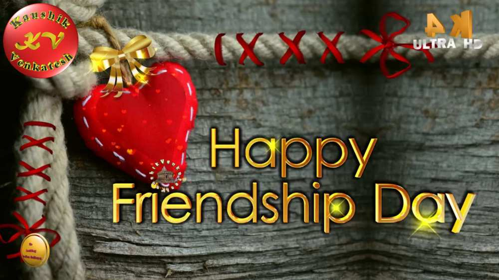 Greetings Image of Happy Friendship Day Wishes Video