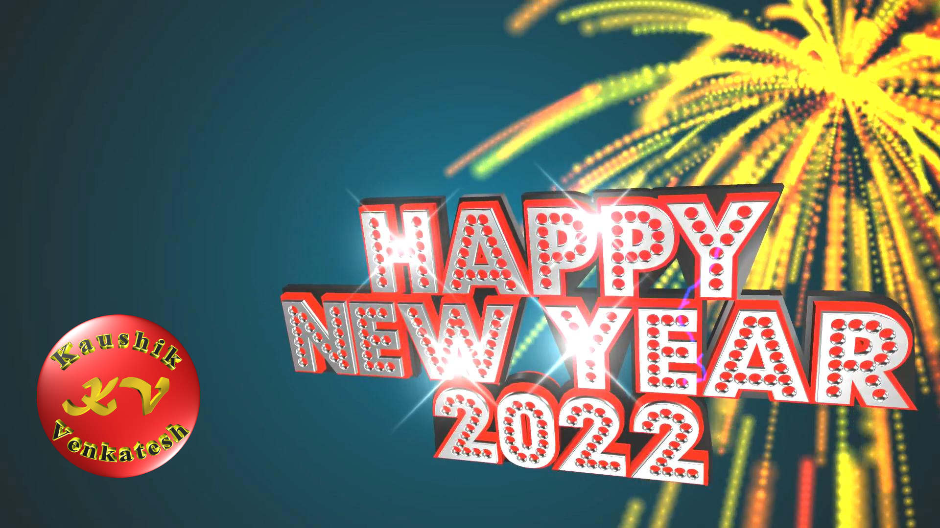 Countdown Video for New Year 2022