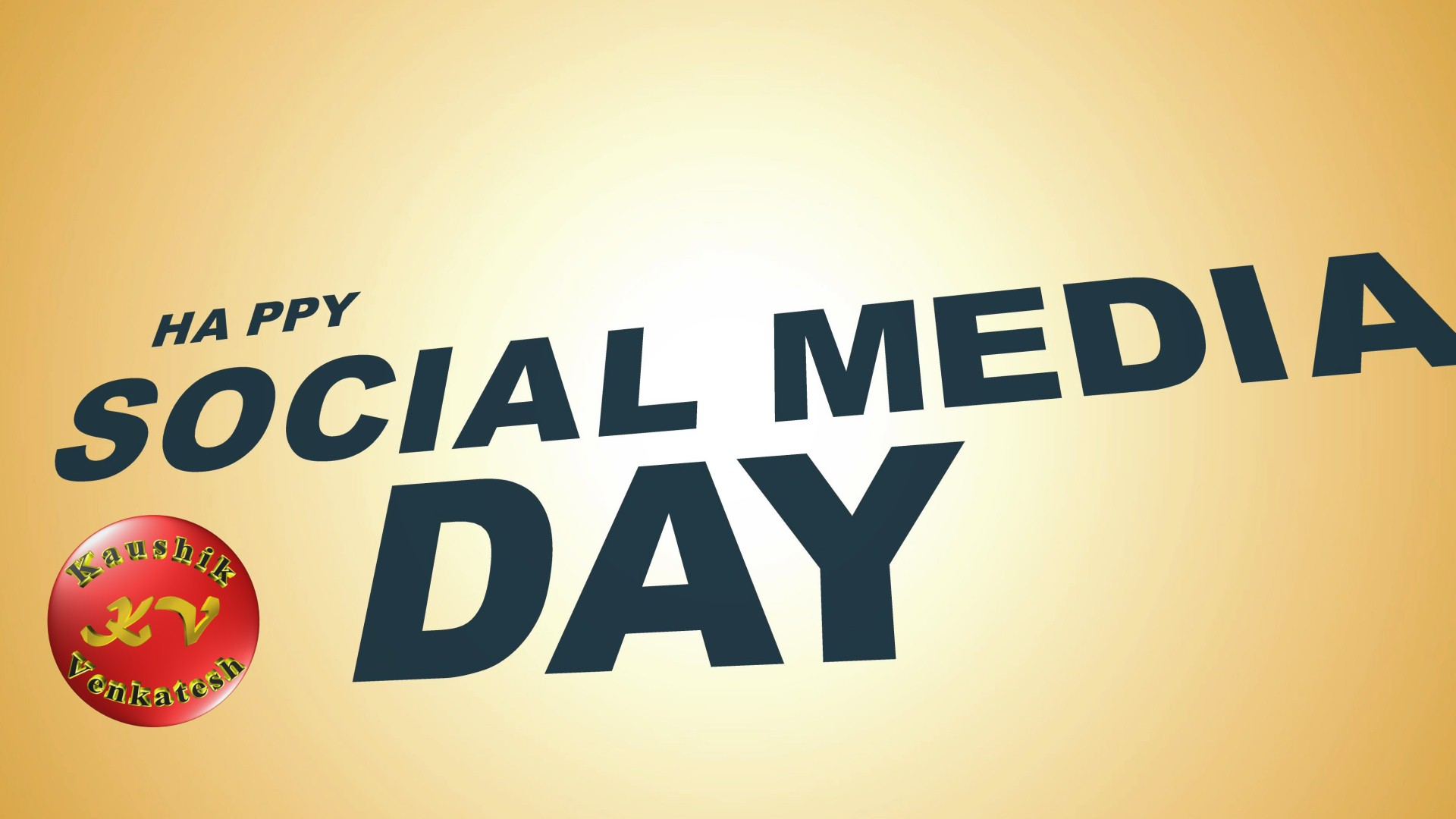 Greetings Image of Happy Social Media Day Wishes