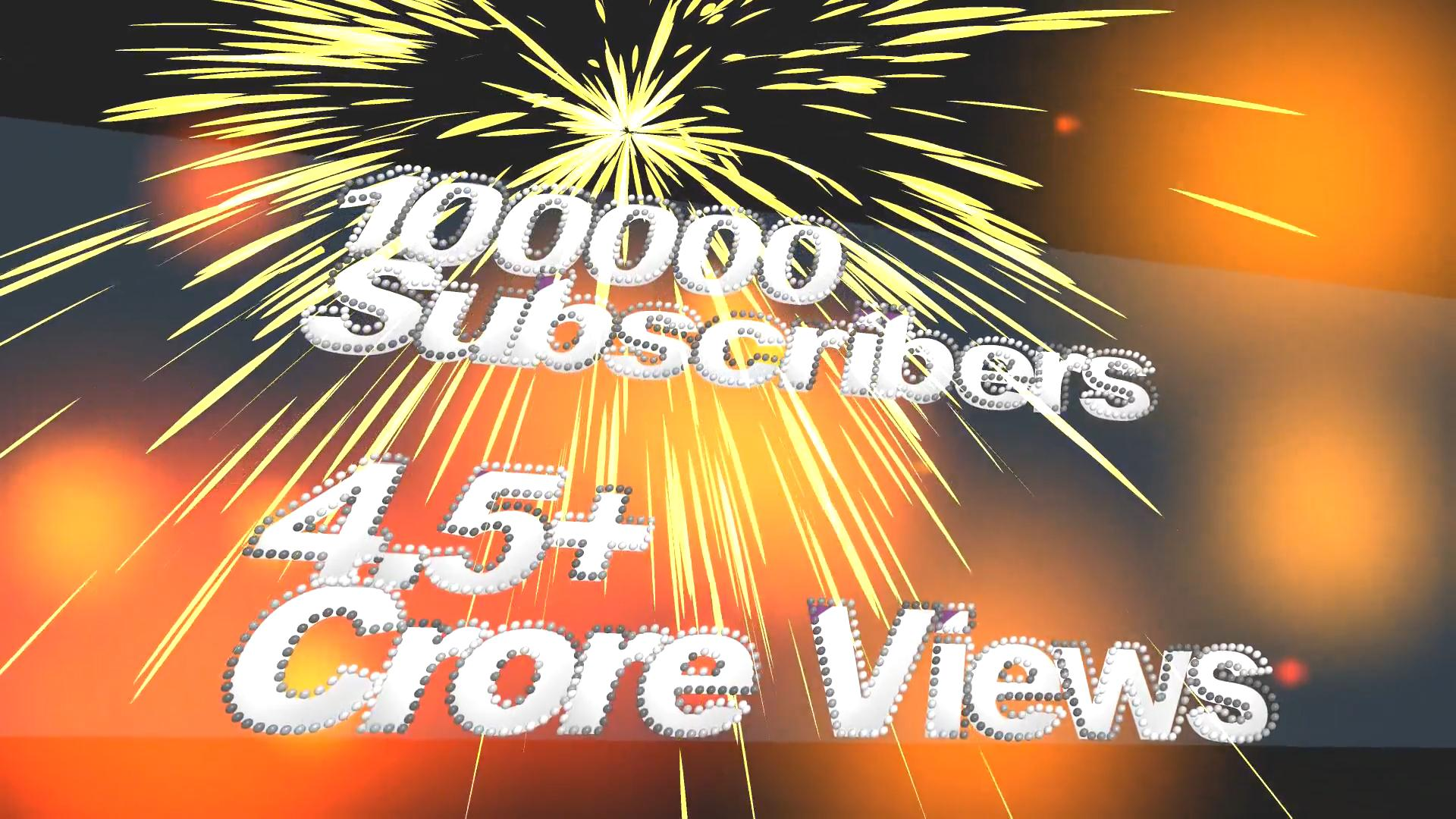 Thank You Greetings to Subscribers of YouTube