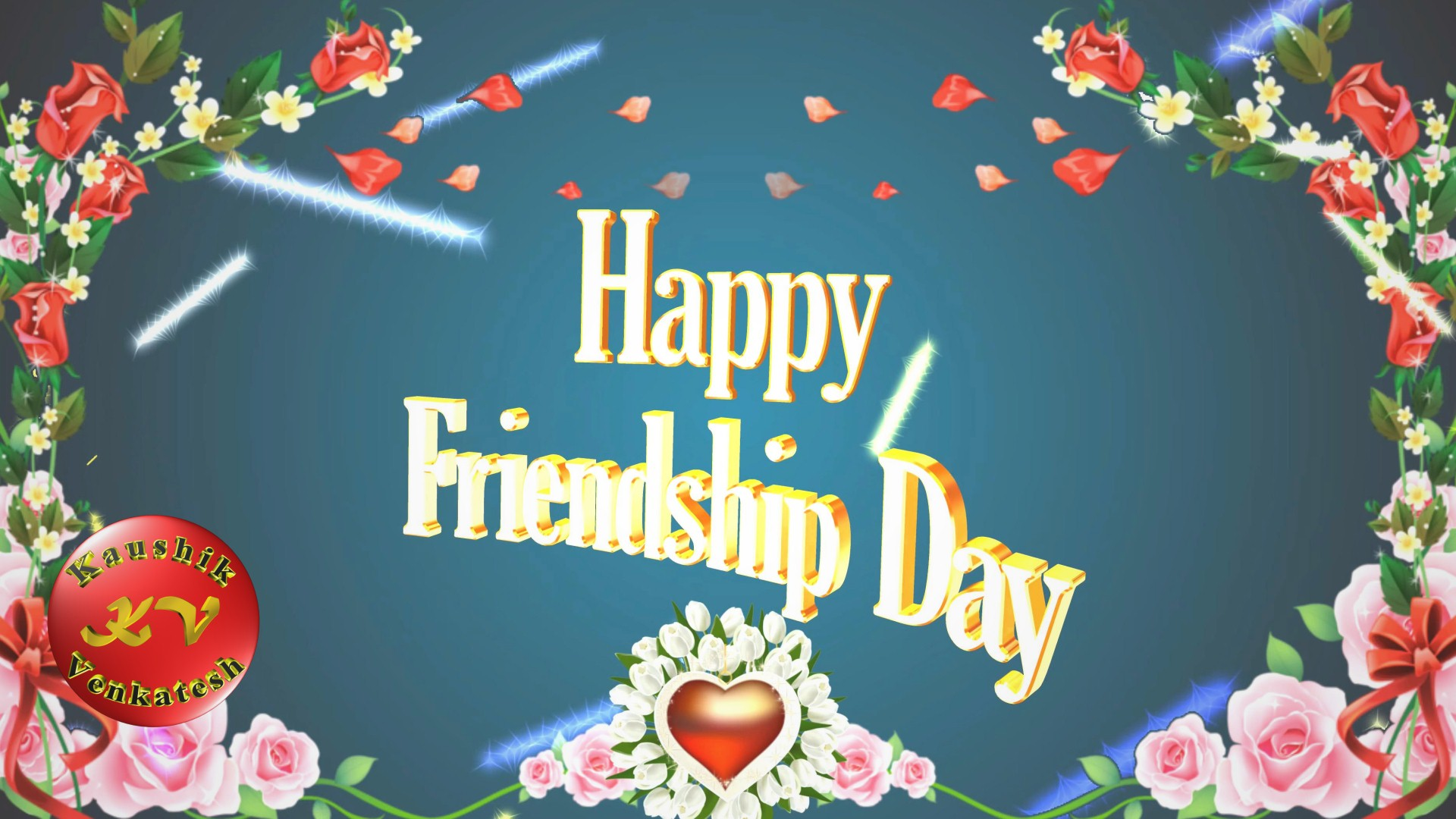 Image of Friendship Day Wishes Animation