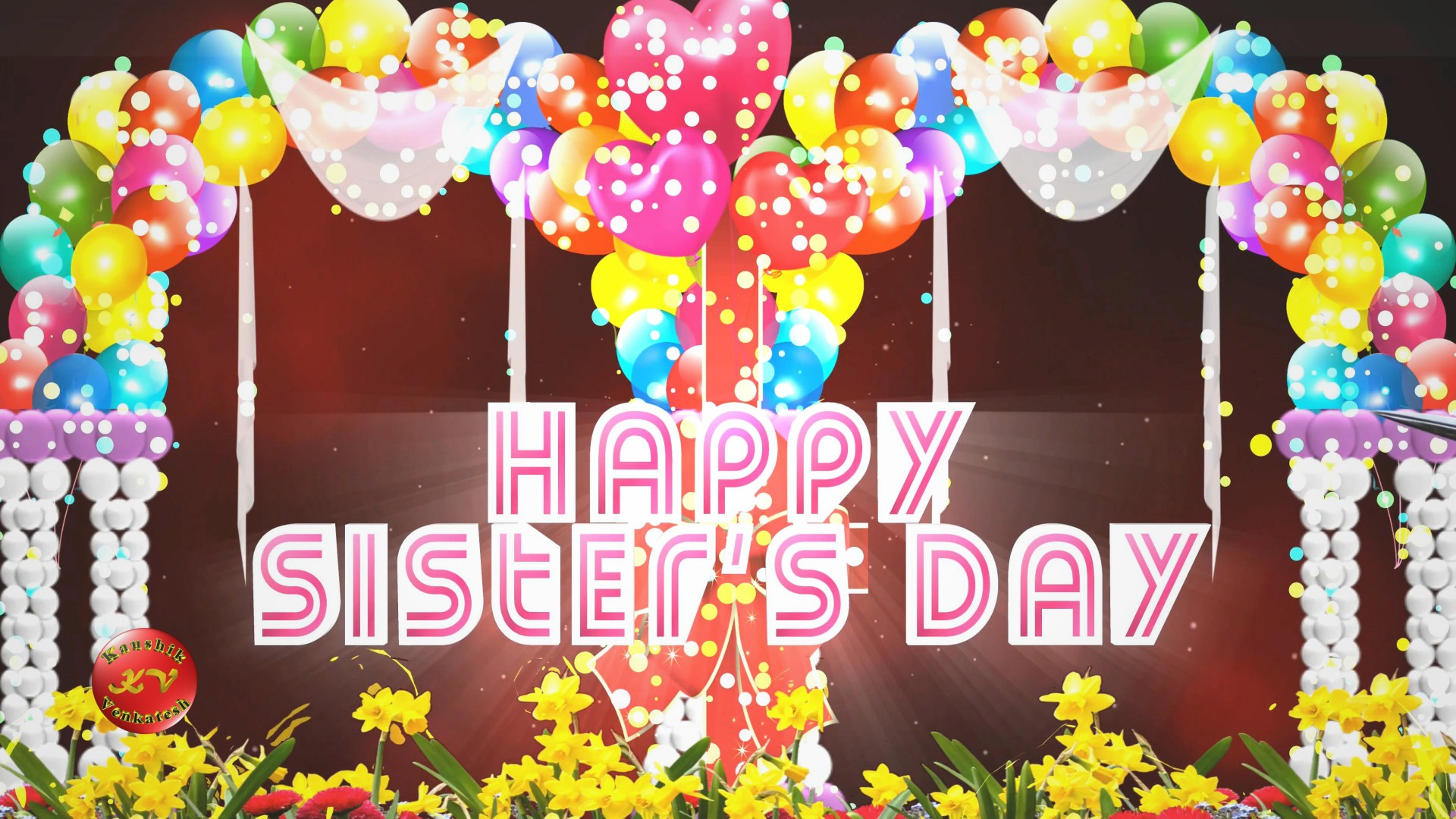 Image of Happy Sisters Day 2021 Greetings