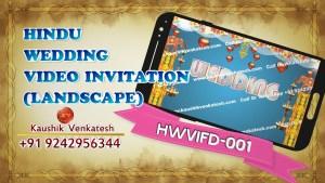 Product Image of Hindu Wedding Invitation Video in Full HD
