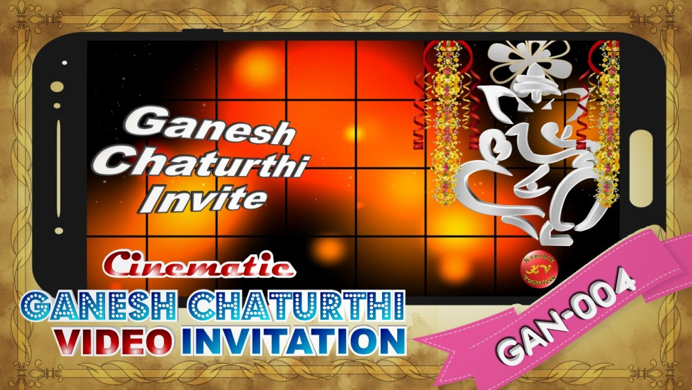 Happy Ganesh Chaturthi 2021, Ganesh Chaturthi Video InvitationBLUFBARAHA