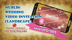 Product Image of Islamic Digital Nikah Invitation Video in Full HD