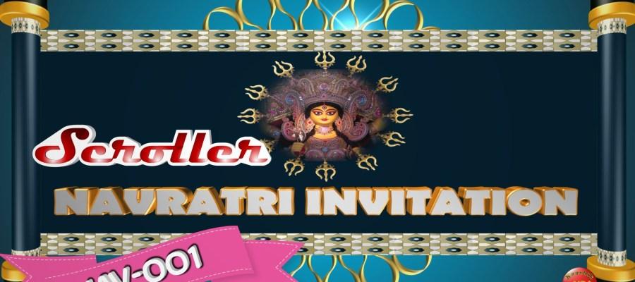 Video Invitation for Navratri Festival.