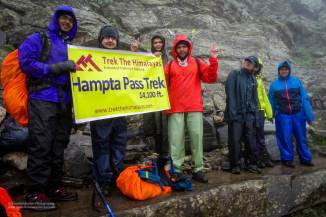 Hampta Pass Trek- The Summit