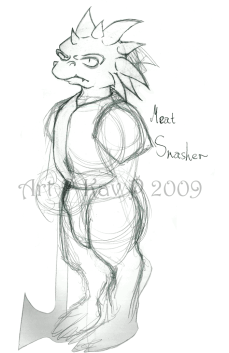 Meat Smasher Sketch (2009)