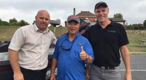 Pierre Voisine, Bob Izumi, Kevin Lamoureux