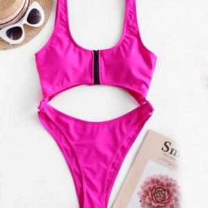 Monokini Pink de una pieza