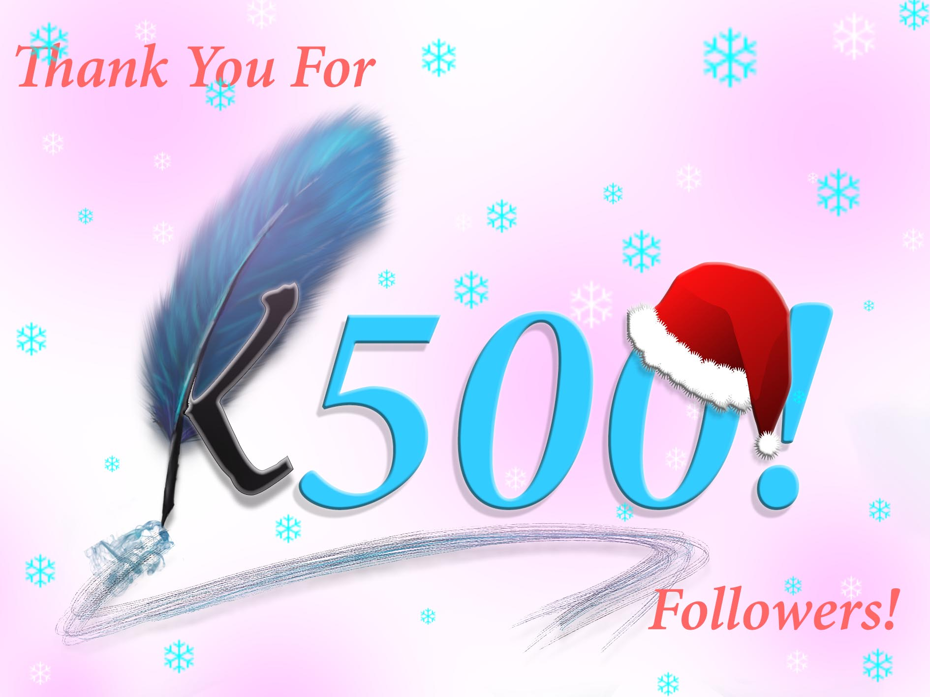 Thank You For 500 Followers!!