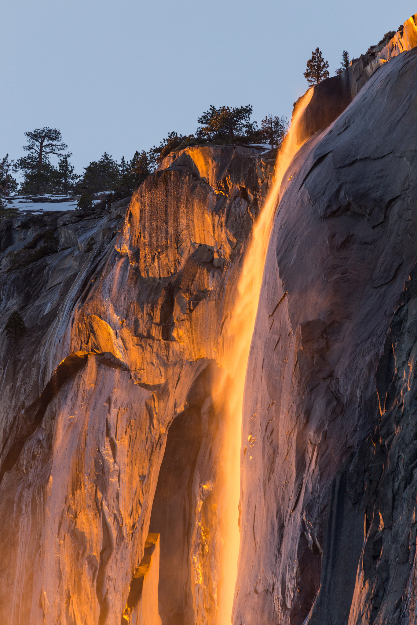 Experience Yosemite's Famous Firefall