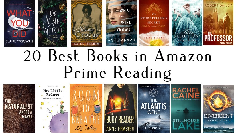20 best books in Amazon Prime Reading (1)
