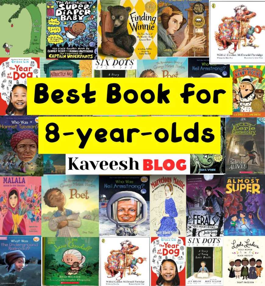 Best Book for 8-year-old