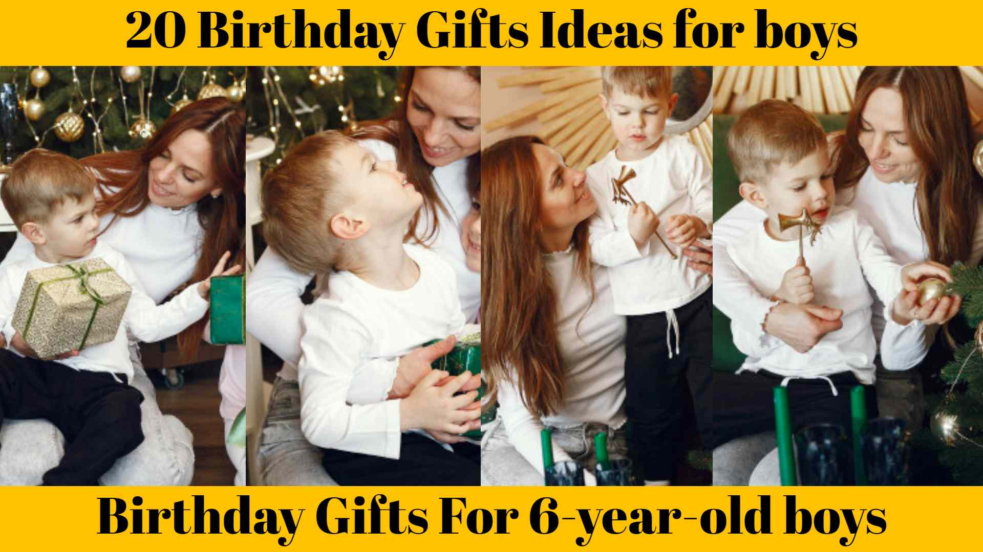 Awesome Birthday Gifts For 6-year-old boys :20 Birthday Gifts Ideas for boys