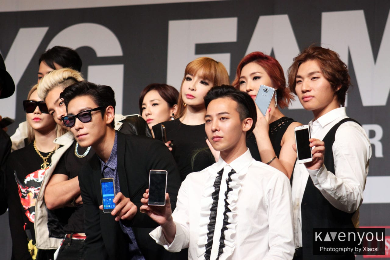 YG Family love the sun and heat in Singapore! - KAvenyou.com