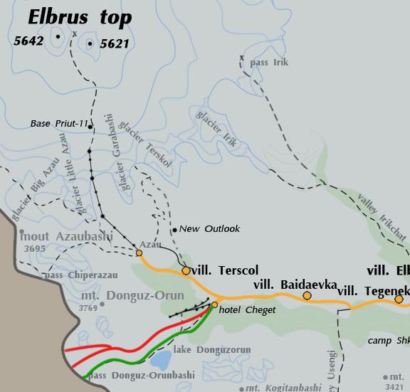 ELBRUS SKITOURS 12 days KavkazSkiTur